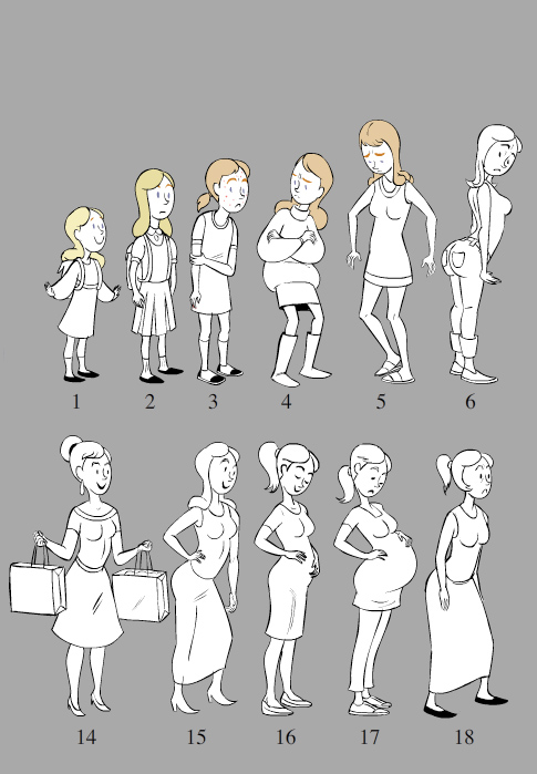Character Design Documentary : Short film designs celia bullwinkel